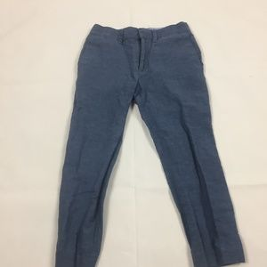 (4-005)Lot of 2 Linen Pants and Top 4T